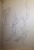 Figure Drawing: Balance Studies
